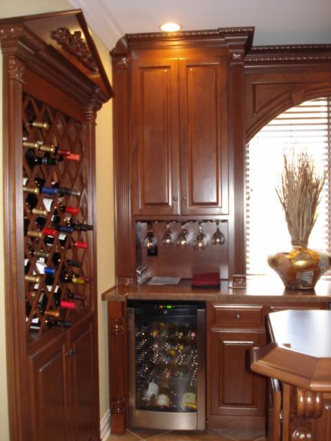 Custom bars wine cellars gallery classic kitchens of for Kitchen cabinets louisville ky